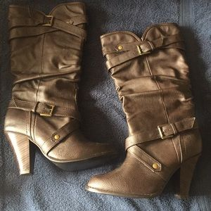 Rampage Brown Boots 9